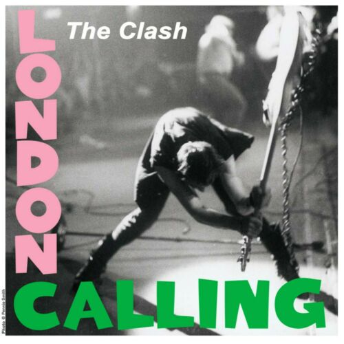 The CLASH London Calling BANNER HUGE 4X4 Ft Fabric Poster Tapestry Flag album