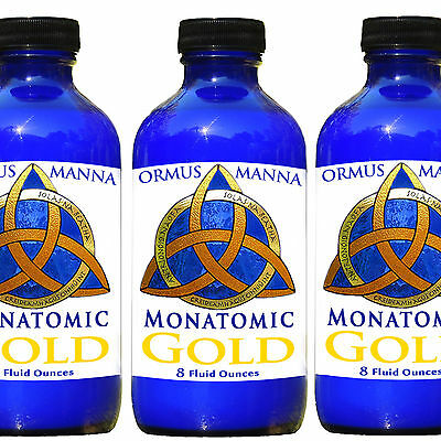 8 Oz Monatomic Gold Ormus Manna  Dna Repair  Heightened Awareness   Lucid Dream