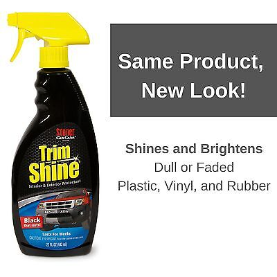 stoner car care trim shine protectant 22 oz 92034 new for sale in us lunny 39 s auto. Black Bedroom Furniture Sets. Home Design Ideas