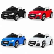 BCP 6V Kids Audi TT RS Ride-On Car w/ Parent Control, AUX - Multiple Colors