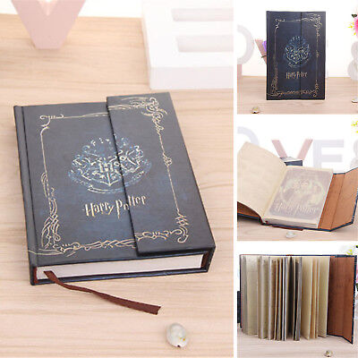 For Harry Potter Vintage Blue Diary Planner Journal Book Agenda Notebook Notepad