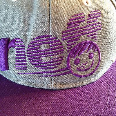 NEFF Baseball Hat Gray & Purple Snapback