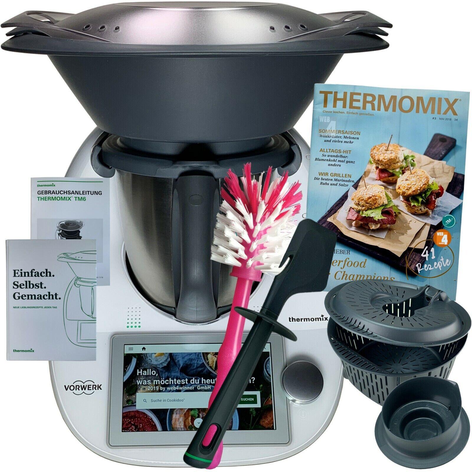 Vorwerk Thermomix TM6 *COOKIDOO®* Zubehör Kochbuch Bürste NEU OVP TM 6 WLAN sk24