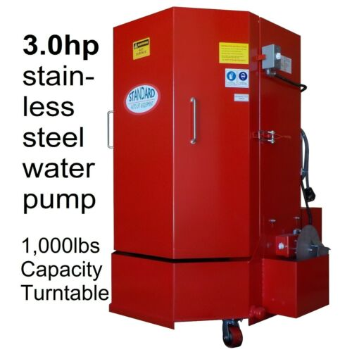3HP motor Spray Wash Cabinet Part Washer- 1,000lb Cap. w/ 5 yr warranty