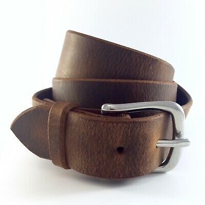Mens Amish Made Leather Belt - Lifetime Guarantee - Real Us Full Grain Leather ](Amish Man)