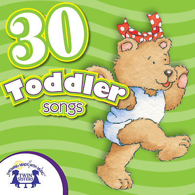 NEW 30 Toddler Songs Music CD Preschool Kindergarten Classroom Daycare Nursery