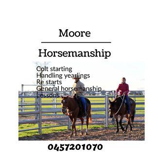 Moore horsemanship