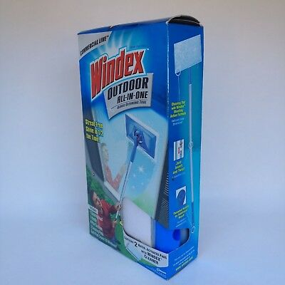 Windex Outdoor All In One Window Cleaning Kit Commercial Line