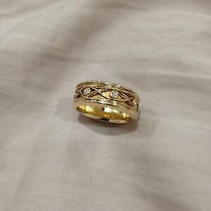 14ct Yellow Gold Diamond Ring Bokarina Maroochydore Area Preview