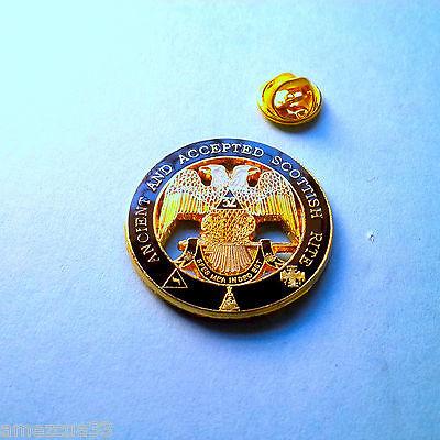 Large Scottish Rite 32nd Degree Lapel Pin
