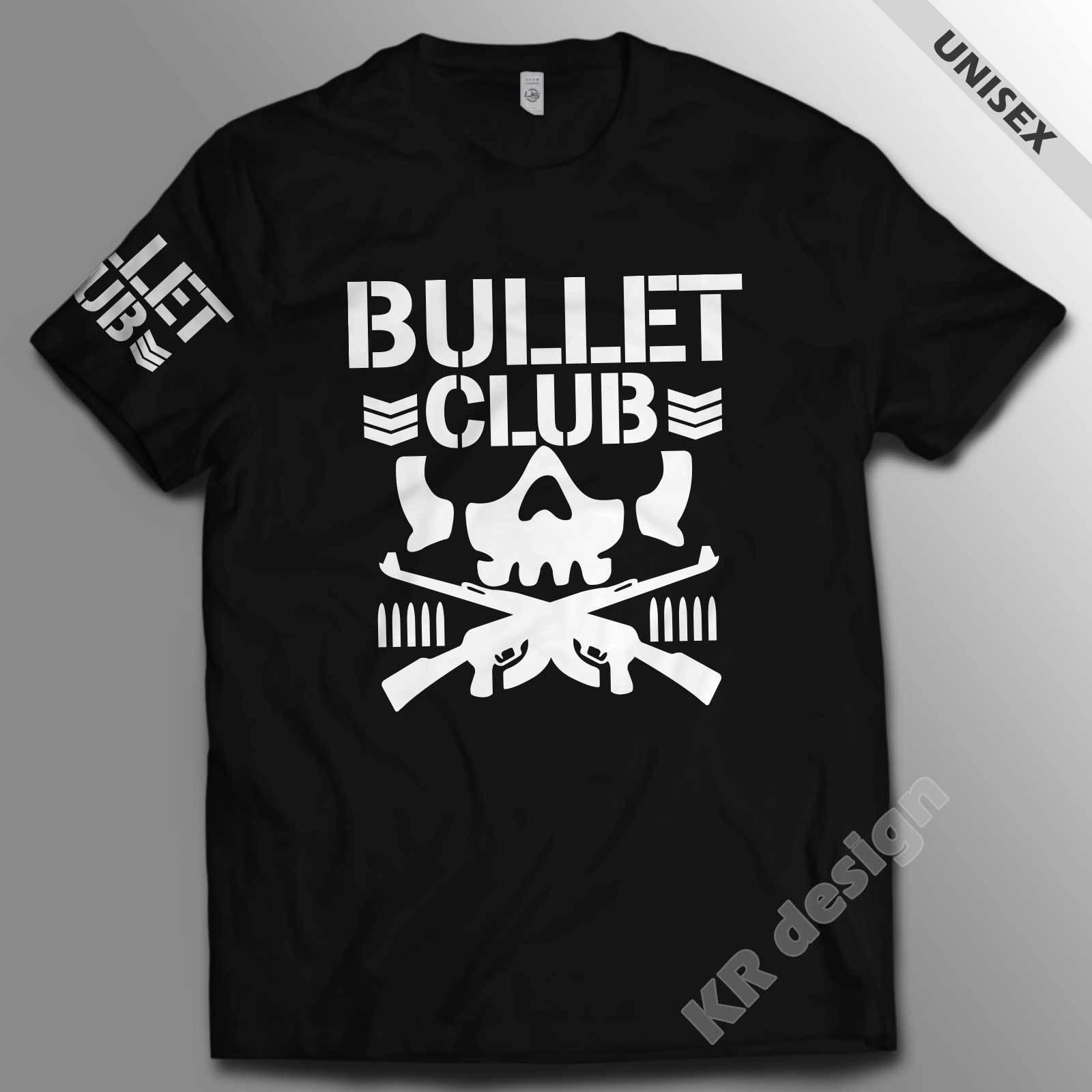 New Japan Pro Wrestling Bullet Club T-shirt Bone WWE Soldier NJPW UFC Unisex tee