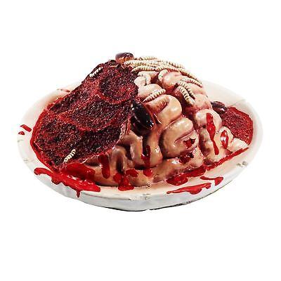 Halloween Horror Blutig Blutige Körper Teil Rotting Gehirn Platte Party Requisit