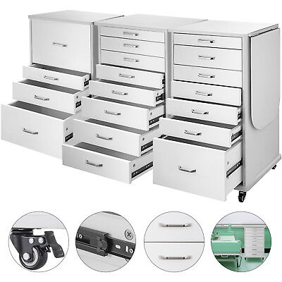 Medical Dental Equipment Alabama Assistants Mobile Cabinet Cart 457 Drawers