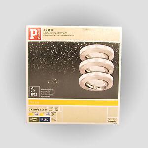 paulmann einbauleuchten set mit led ring sternenhimmel einbaulampen trafo ebay. Black Bedroom Furniture Sets. Home Design Ideas