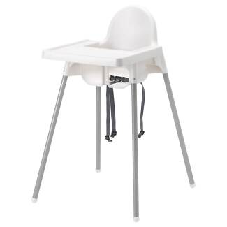 HIGHCHAIR IKEA with Tray & Straps Duncraig Joondalup Area Preview