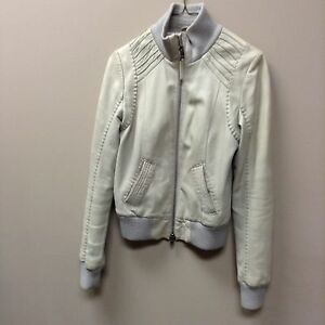 Mackage leather jacket size small aritzia