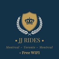 8:00am/9:30am Montreal to Toronto Everyday JJRIDE