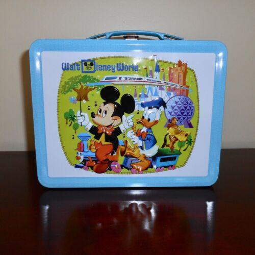 Disney D23 Gold Membership 2021 Vacation Kingdom Metal Lunchbox Lunch Box NEW