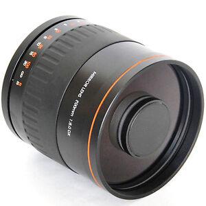 900mm mirror zoom lens f 8 for olympus e1 e300 e330 e400
