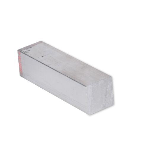 "1"" x 1"" Aluminum Flat Bar, 6061 Square, 6"" Length, T6511 Mill Stock, 1"""