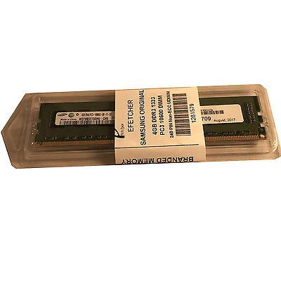 Samsung 4GB P/N M378B5273DH0-CH9 DDR3 1333 PC3 10600  Non ECC UDIMM For Desktop