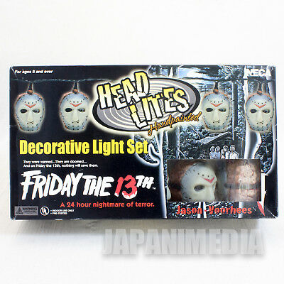 Friday the 13th Jason Voorhees Head Lites Decorative Light Set NECA FIGURE