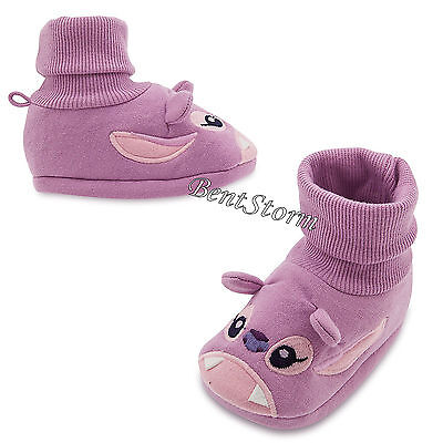Lilo & Stitch ANGEL Purple BABY Costume Dress Up SHOES SLIPPERS Disney Store NEW - Angel Costume Shoes