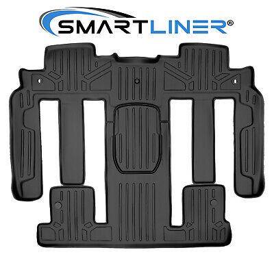 SMARTLINER Traverse / Enclave / Acadia 2nd/3rd Row Custom Floor Mats Liner (Rd National)