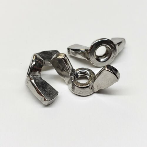 #10-24 Wing Nuts - Stainless Steel (Select your Quantity) Wholesale Available
