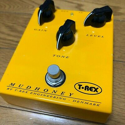 USED MUDHONEY BY T-REX ENGINEERING DENMARK DISTORTION OVERDRIVE EFFECT PEDAL