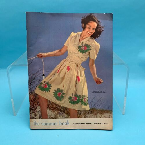 1942 Montgomery Ward Catalog The Summer Book with Order Forms