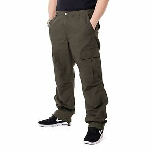 Carhartt-Regular-Pantalones-Estilo-Cargo-Pantalones-Hombre-Pantalon-Cargo