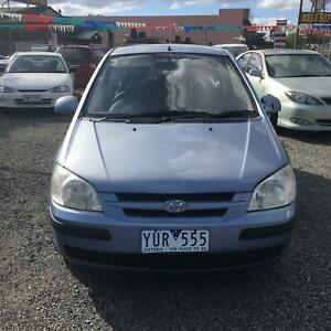 2005 Hyundai Getz GL Manual Hatch reg&rwc $2999 driveaway Hoppers Crossing Wyndham Area Preview