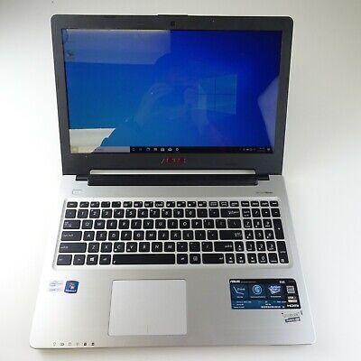 Asus i7-3517U Dual's SSDs 120GB SSD 4GB Ram 15.6 HD Screen Windows 10 Pro S56C