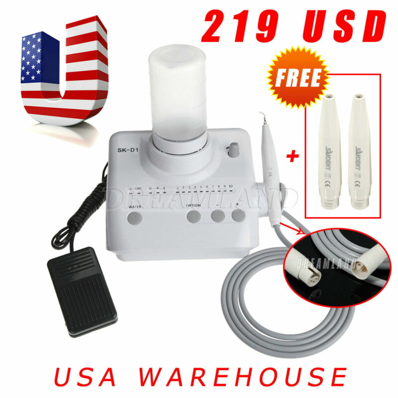 US STOCK! Ultrasonic Piezo Scaler for DTE SATELEC with AUTO WATER + 2 Handpiece