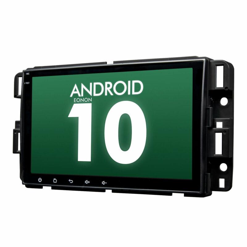 "Android 10 8"" Car Radio Stereo GPS For GMC Chevrolet Chevy Yukon Sierra Acadia l"
