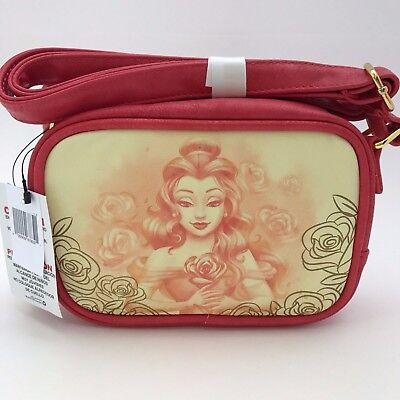 Disney Parks Belle Crossbody Bag by Loungefly Boutique Purse Beauty & the Beast