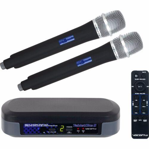 Vocopro TabletOke-II Digital Karaoke Mixer with Wireless Mics and Bluetooth Rece