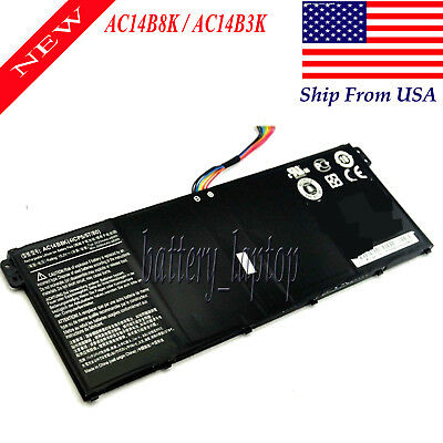 KT.0040G.004 Battery For Acer Aspire V3-371 E3-111 E3-112 ES1-512, R13 R7-371T