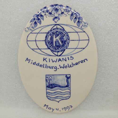 Kiwanis International Middelburg 1993 H&R Johnson England Burris Holland Tile