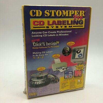 Cd Stomper Pro Cddvd Labeling System Create Personal Labels