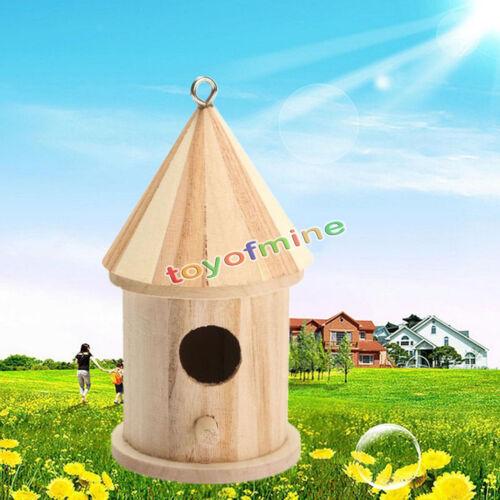 Scatola Di Nidificazione in Legno Nido Bird House Bird Cinciarella Robin Sparrow