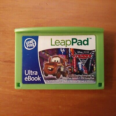 Leap Frog Leap Pad Ultra Ebook Cars 2 Rare find