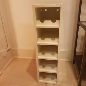 White Ikea wine rack shelf Campsie Canterbury Area Preview