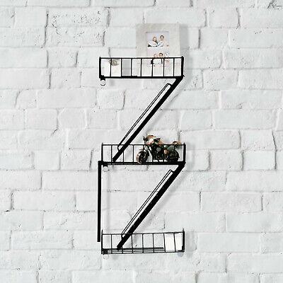 Retro New York Fire Escape Wall Shelves Novelty Display Unit Floating Unique