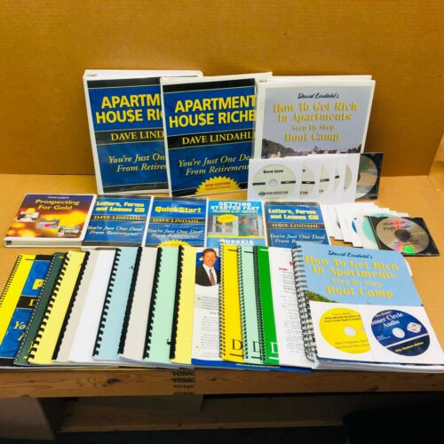 Dave David Lindahl Apartment House Riches Course Boot Camp 34 CDs and Bonuses