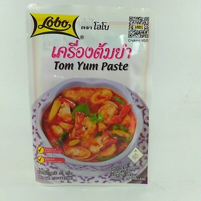 TOM YUM PASTE  DELICIOUS TASTY THAI HOT SOUP  1 OF 50 BEST FOOD BY CNN