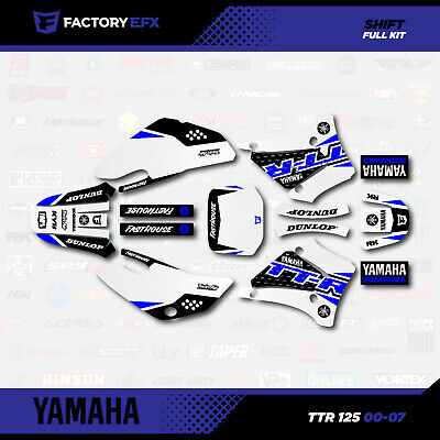 Blue Shift Racing Graphics Kit fits 00-07 YAMAHA TTR125 Sticker Decal TTR 125
