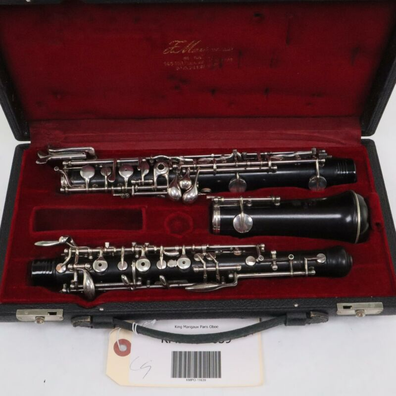 SML King Marigaux Professional Oboe with 3rd Octave Key SN 11639 WOW