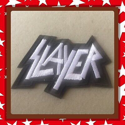 🇨🇦 SLAYER Raining Blood Embroidered Patch  Sew On/stick On Cloth/new 🇨🇦 #22](Rain Stick Craft)